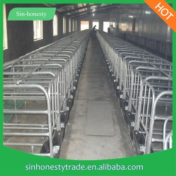 Hot Dipped Galvanized Pig Gestation Crates