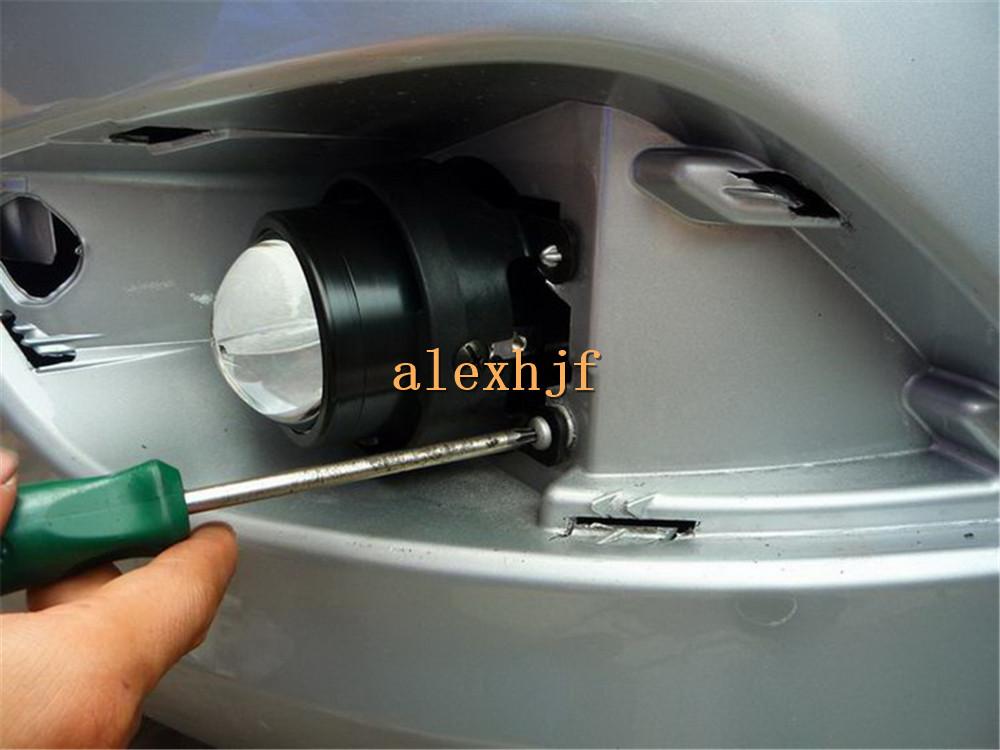 Bifocal Lens Fog Lamp Assembly Drl For Toyota Lexus Subaru