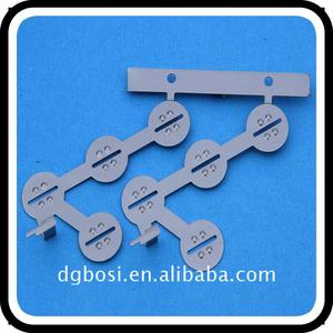 Brass stamping products beryllium copper metal with gold plated automotive stampings