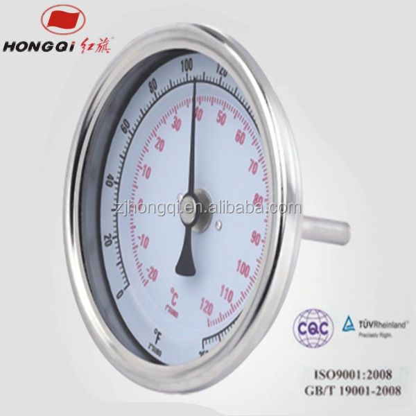 Stainless steel probe digital bimetal thermometer for sale