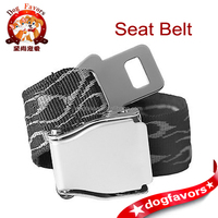 Jacquard Polyester Webbing Aircraft Safety Belt in Black Color