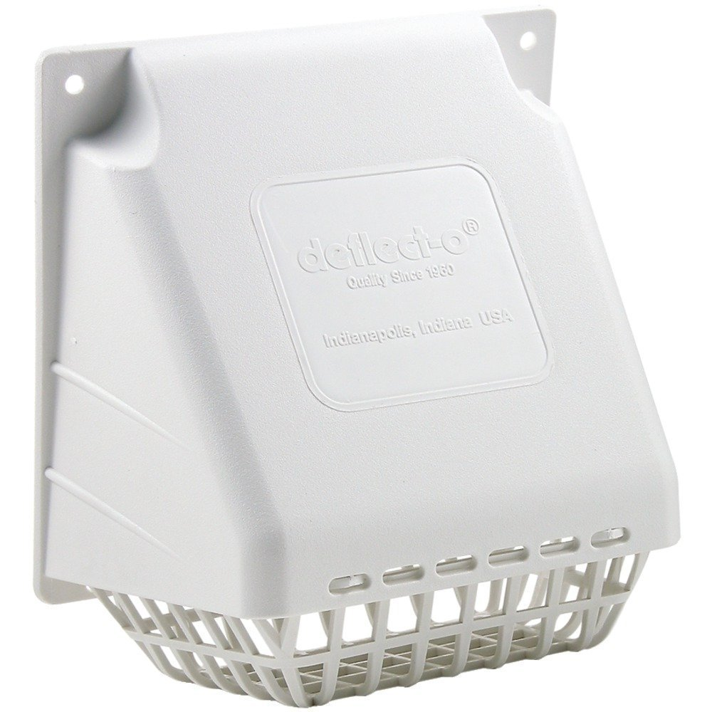 DEFLECTO HS4W//18 SUPURR-VENT REPLACEMENT VENT HOOD WHITE 16 Pack