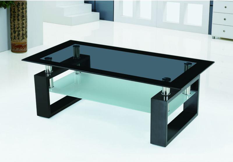 Ruang tamu yang modern kaca meja tengah atas desain meja - Glass centre table for living room ...
