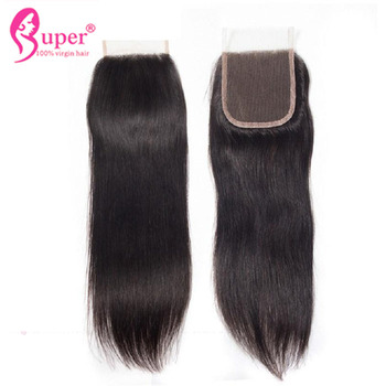 Best Bleaching Knots On Straight Lace Frontal Closure 4 By 4 Free 2 3 Part Hair Extensions