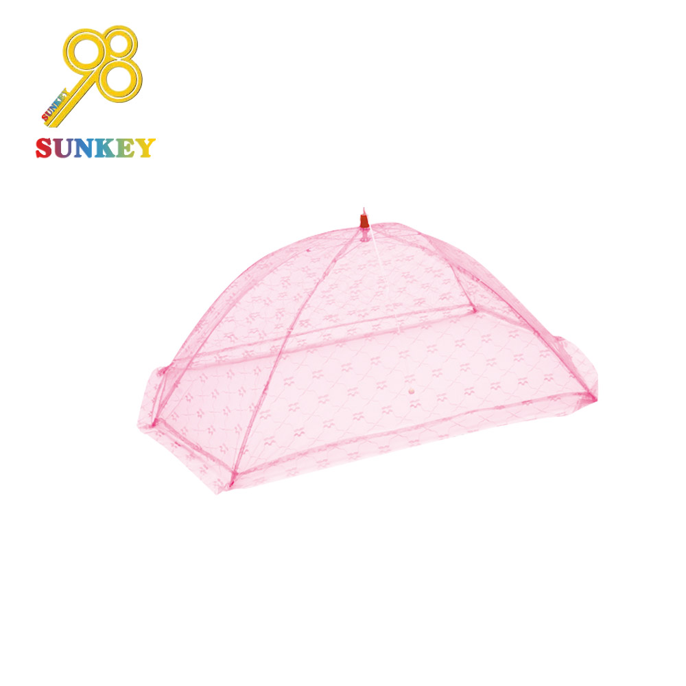 Portable happy fashion foldable umbrella baby playpen mosquito net