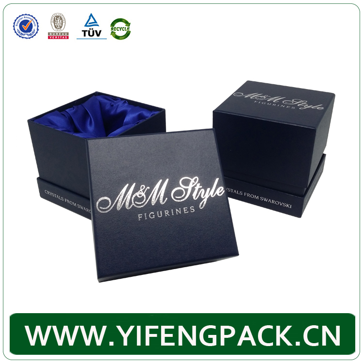 fashion luxury antique custom logo printed velvet paper jewelry box wholesale