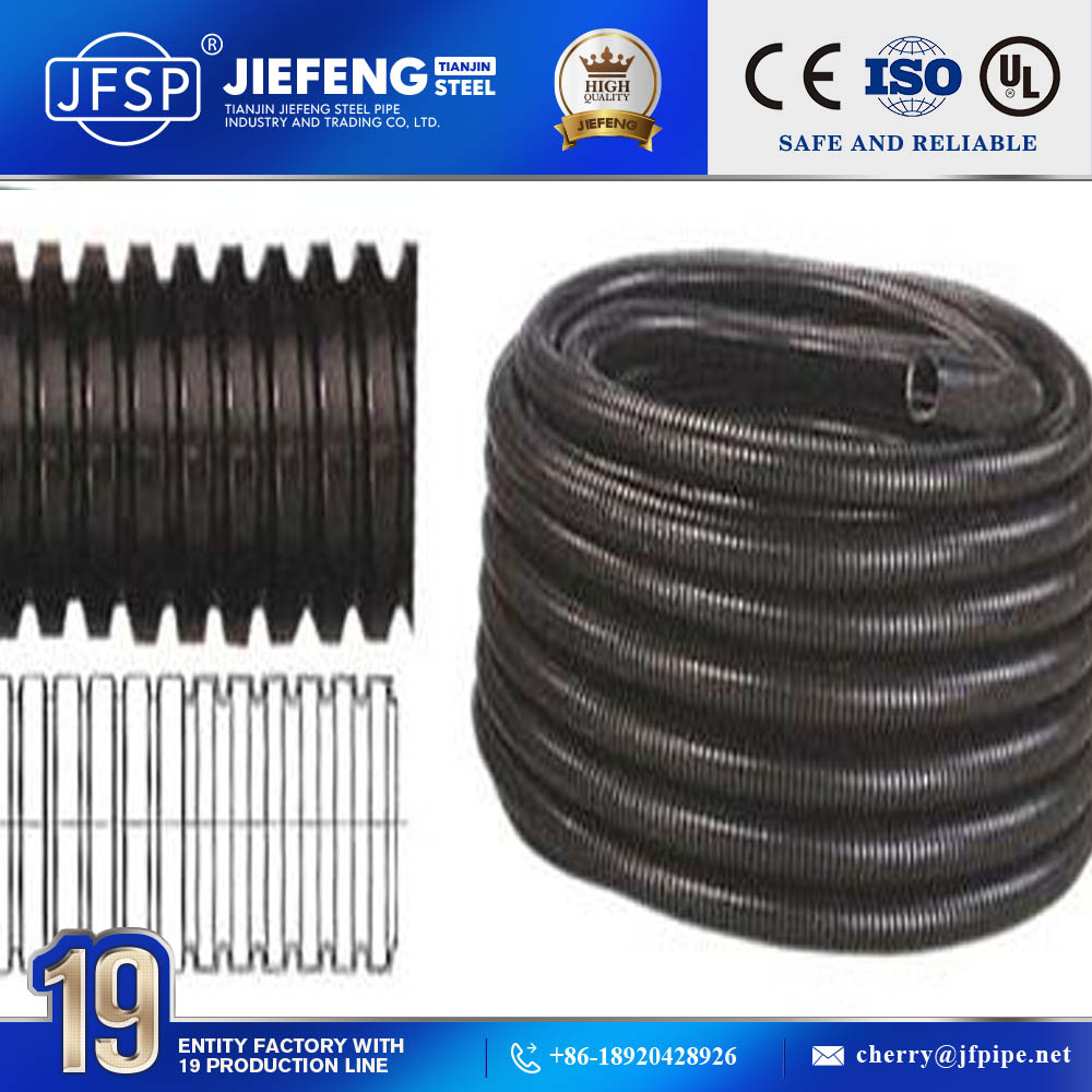 Pe Corrugated Conduit Electrical Wire China Mainland Cable Conduits Manufacture Flexible