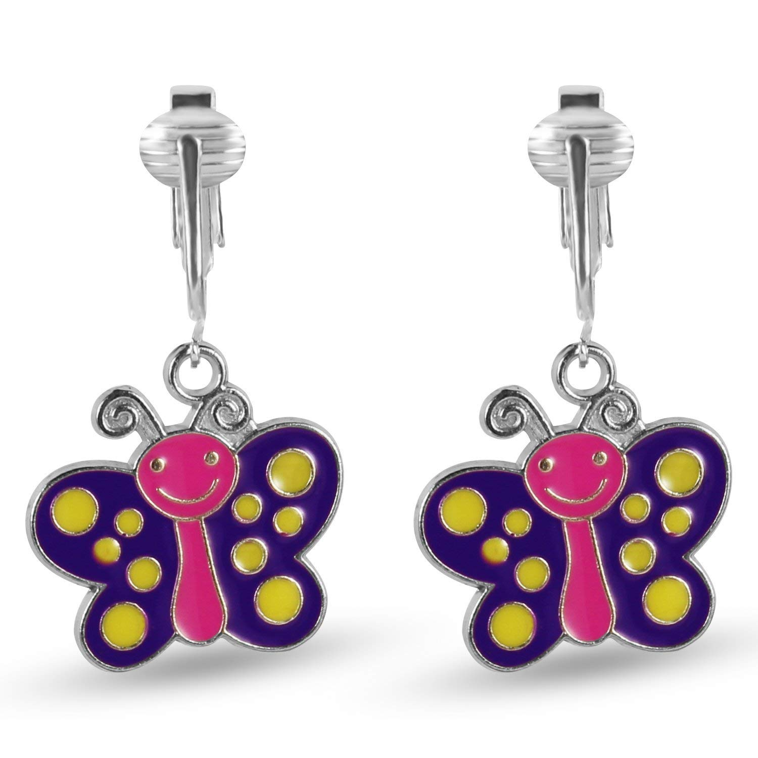 Get Quotations Erfly Clip Earrings Dragonfly On For Women