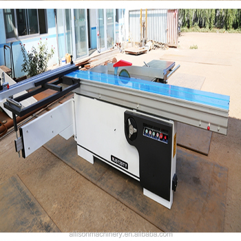 Furniture Decoration Sliding Table Panel Saw Sawmill Machine For  Woodworking And Pvc Board