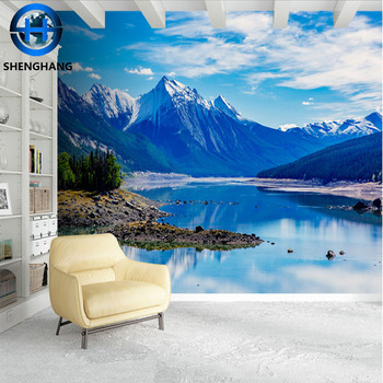 Incroyable Damask Bedroom Nature Wallpaper 3d Effect Wall Mural Silk Cloth Good  Feeling Wall Paper