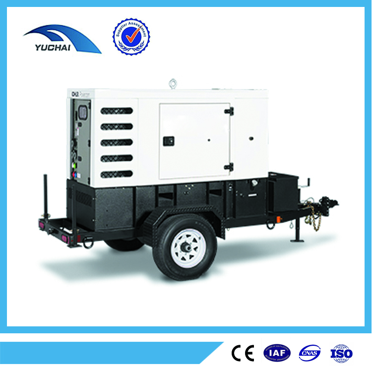 european brand engine best ATS system 100Kw ISO quality silent diesel generator portable 125Kva with famous diesel engine price