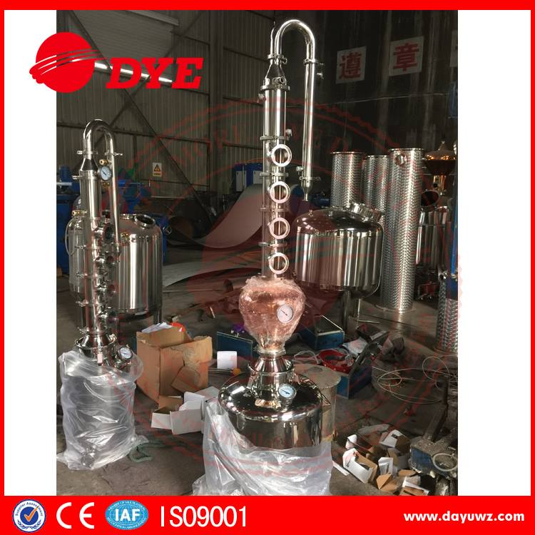 50L / 100L distilling alcohol home reflux alcohol distiller made in china between 21 to 50 sets