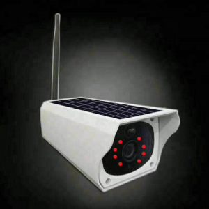 2MP wireless cctv security wifi camera solar panel cctv ip camera outdoor
