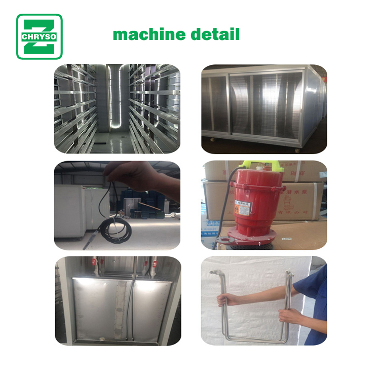 hot sale hydroponic fodder machine for cattle horse rabitt