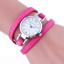 2932 Colorful Women Watches Wholesale Hot Fashion Weave Wrap female wrist watches