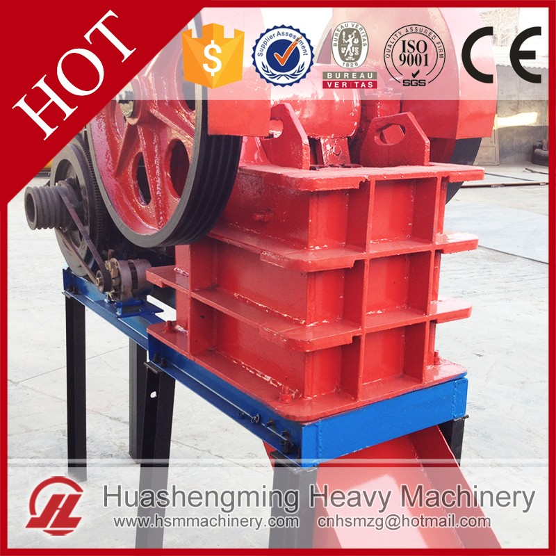 HSM ISO CE Superior Performance Ore 5-20 t/h Mini Used Jaw Crusher