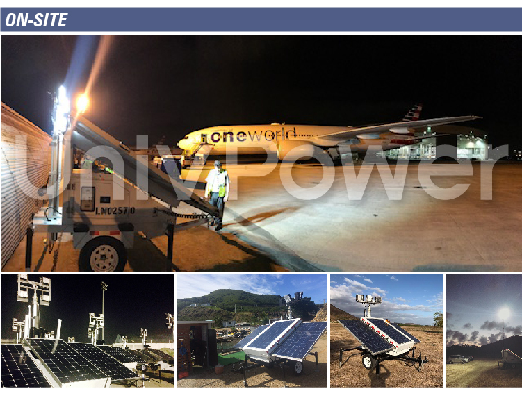 Telescopic Mast with Manual Winch use in Lighting Tower Telecommunication Tower make by Aluminum alloy and Stainless