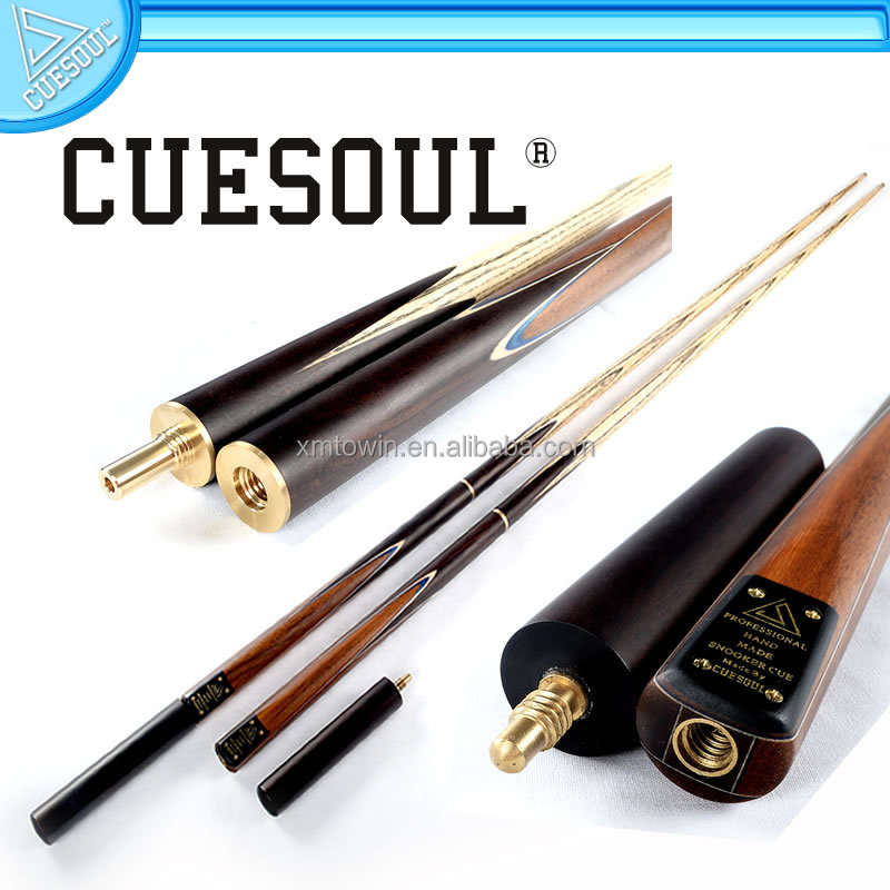 CUESOUL Hand Made 3/4 snooker cue, Traditional snooker cue for all players, Cheap but good.