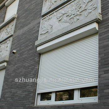 Horizontal Fireproof Roller Shutter Aluminum Window Roll