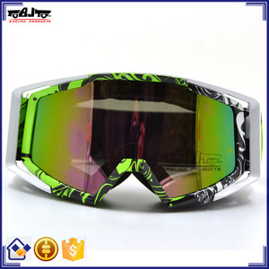 BJ-MG-020A Manufacturer Adult Soft Foam Clear Lens Street Bike Goggle Motocross