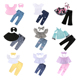 New arrival ruffle off shoulder set children kids girl clothes