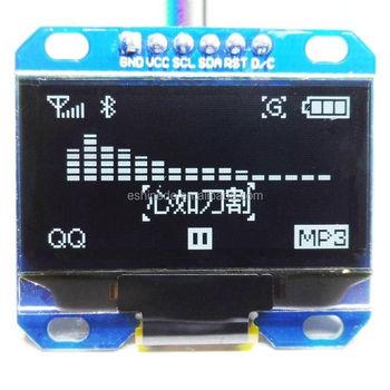 "1.3"" Spi Serial 128x64 White Oled Lcd Led Display Module For Ardu ..."