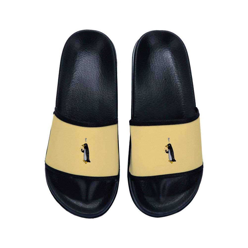 35497c4a851e9 Get Quotations · Men Slippers Fashion Soft Bottom Leisure Handsome Penguin  Slippers Comfortable Simple Slippers