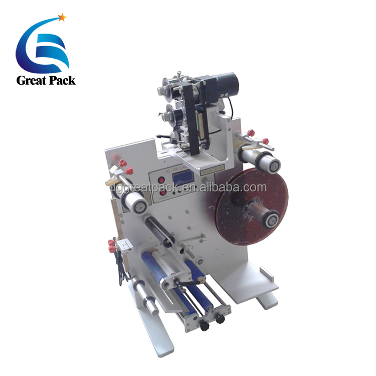 SL-130 vertical double sides front and back labeling machine