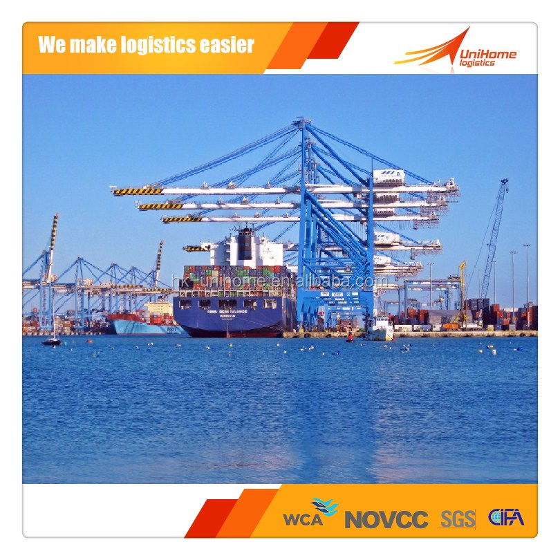 International shipping service and shipping rates from shenzhen/shanghai/guangzhou/ningbo/china to Port Elizabeth/South Africa