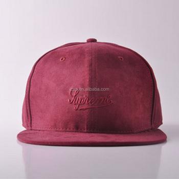 6064161d5 Customize 100% Imitation Leather Cloth With Soft Nap Fabric Snapback Hats  Wholesale Flat Embroidery Logo Snapback Caps And Hats - Buy 6 Panel  Snapback ...