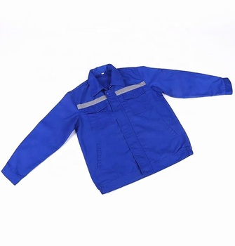 Blue long- sleeve labor work wear insurance clothing labor protection overall in Guangzhou