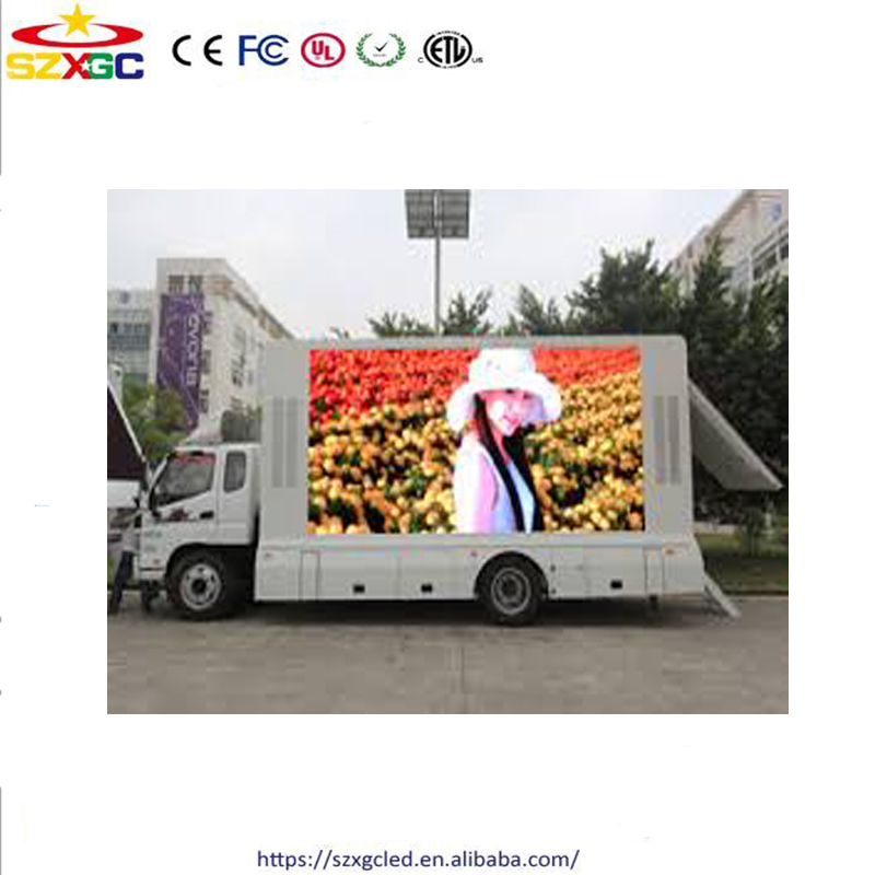 Shenzhen cheap 2121smd rgb led display screen p3.91 led advertising truck digital poster
