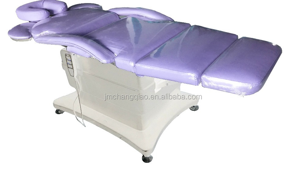 2017 professional beauty electric facial bed used electric massage table