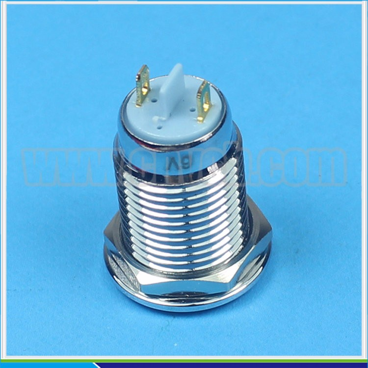 IN11 Stainless steel light Metal 12mm led indicator CE RoHS led pilot light indicator