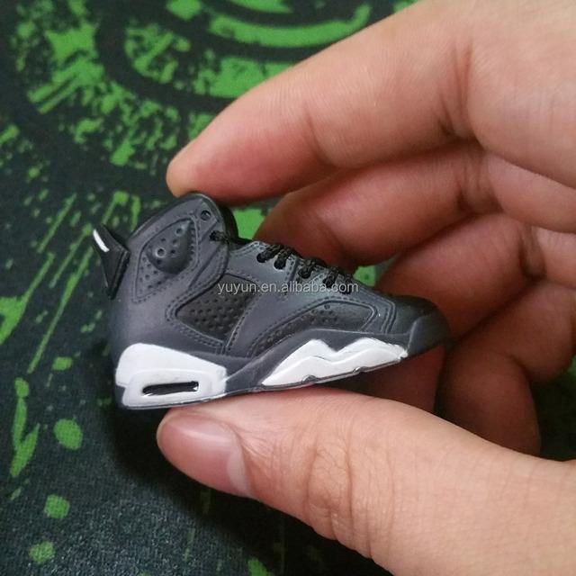online store e2764 a8fbd mini sneaker Air Jordan 3D Keychain Retro AJ 11