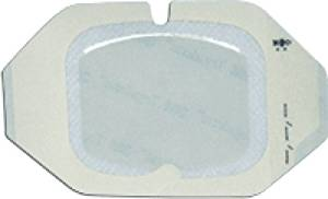 "3M Healthcare Tegaderm Transparent Adhesive Film Dressing with Border 2-3/8"" x 2-3/4"", Breathable (Box of 100 Each)"