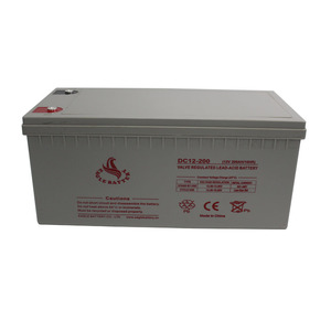 12v 200ah AGM Maintenance Free inverter Battery