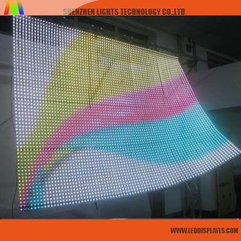 Lights Digital Advertising Display P16 Small Flexible Led Screen China  Wholesale Market - Buy Flexible Led Screen,Small Flexible Led Screen,P16  Small
