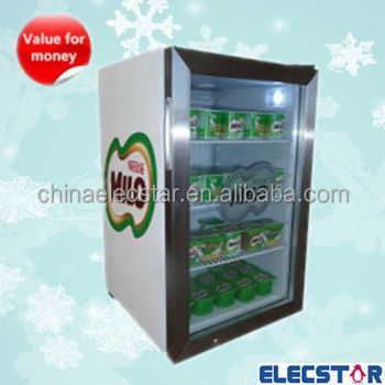 Glass Door Mini Bar Fridgecountertop Coolerbeverage Coolersoft