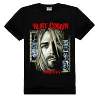 NIRVANA t-shirt silkscreen printing,vintage t-shirt printing
