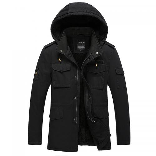 Alibaba.com / Fashion Casual Design High Quality Tactical Male Outwear Plus Size winter 100% Cotton Military Man jacket