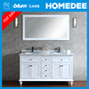 Homedee latest wooden furniture design modern bathroom cabinets
