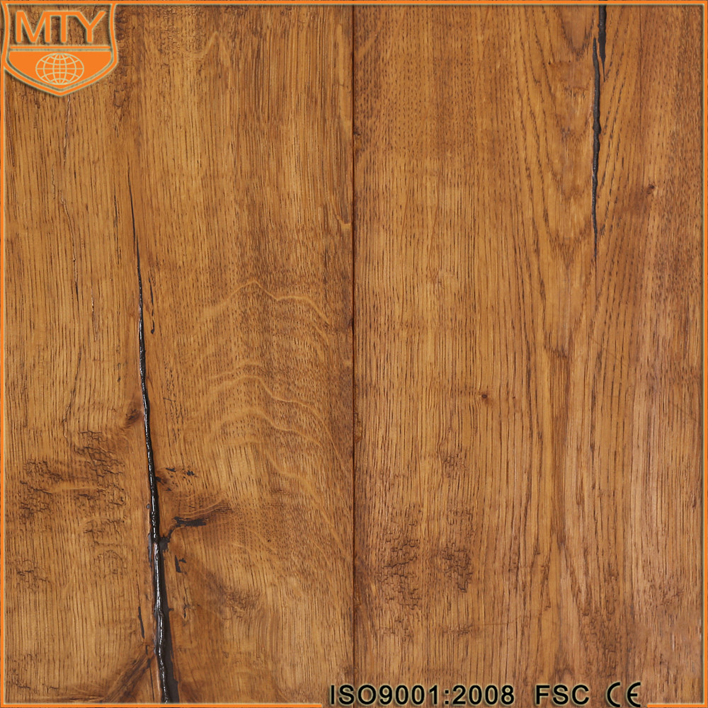 E-54 MTY Finished Engineered Wood Wide Plank Flooring Wood Oak
