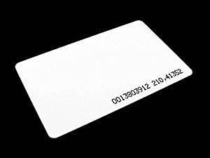 LC 125Khz RFID Identification ID Proximity Card EM4100 0.8mm - Pack of 10