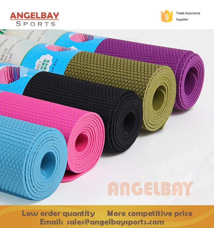 Wholesale 1830x610x5mm Pure Natural Recyclable non slip Rubber yoga mat