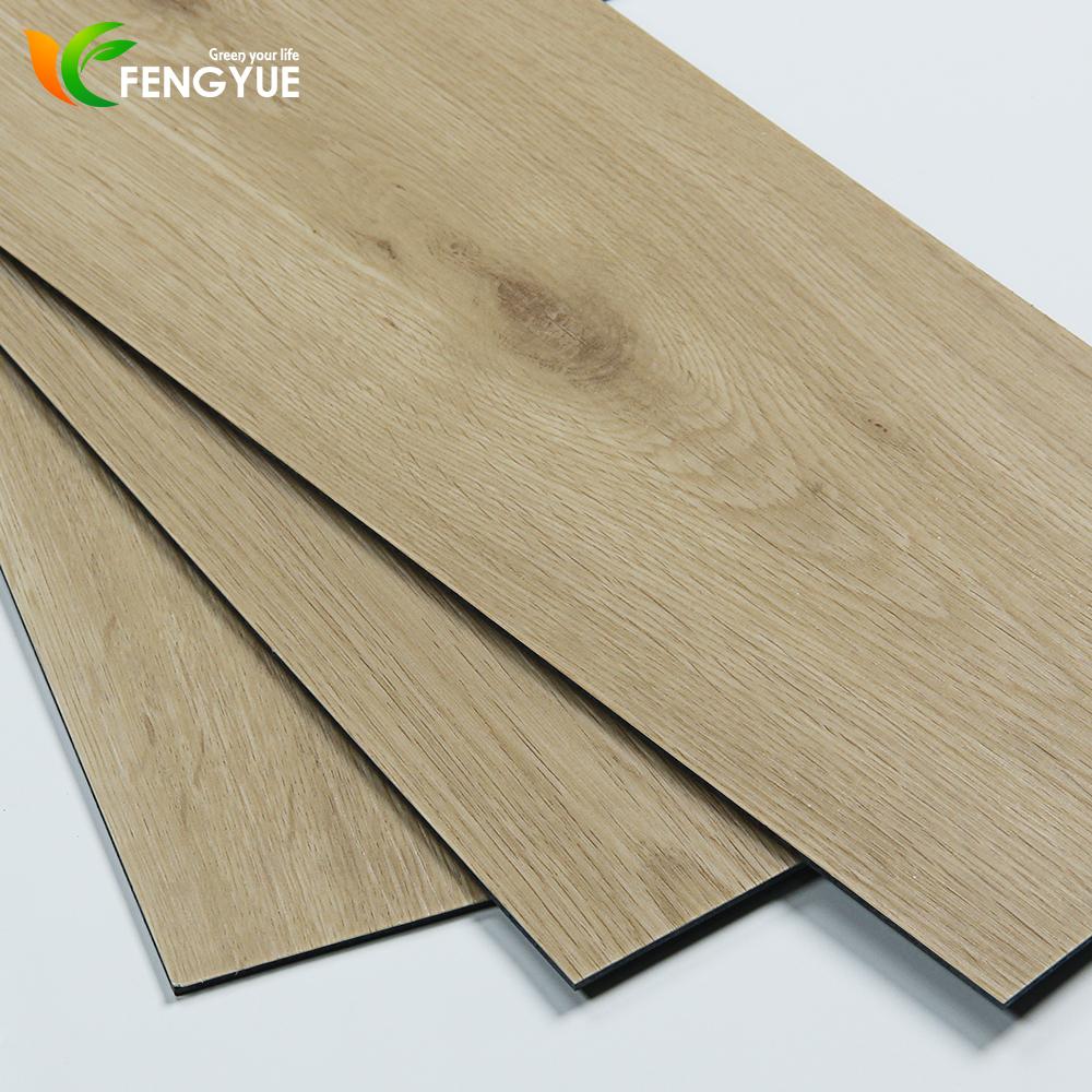 Plastic Material Wood Look Pvc Vinyl Click Board Floor Tile