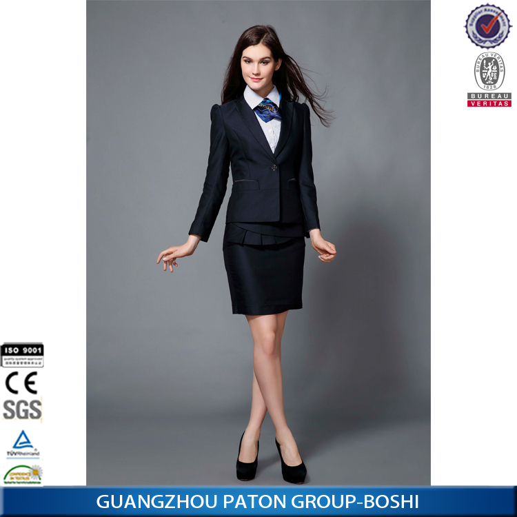 Custom Suit Customized Women S 3 Piece Business Suits Sets Md1a8836
