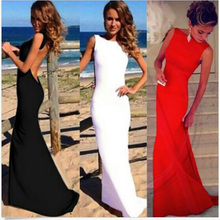 Sexy Women Prom Ball Cocktail Party Formal Evening Gown Long Dress new long party evening dresses