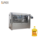 Automatic Food oil Filler Sunflower Oil 4 Liter Bottle Filling Machine