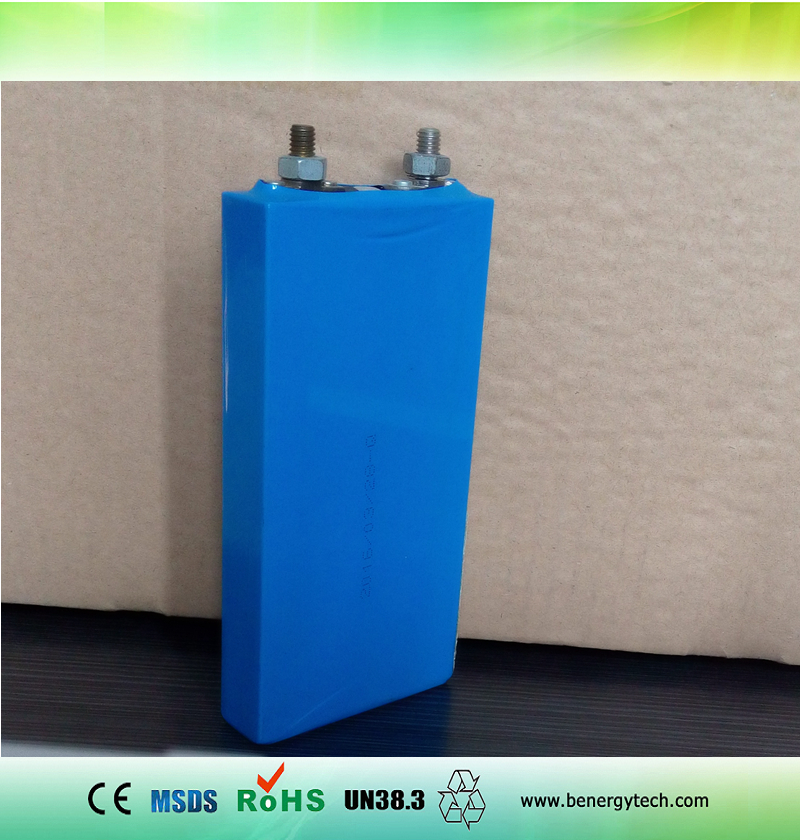 Lithium Prismatic 3.2V 20Ah LiFePO4 battery cell with case for Storage and EV
